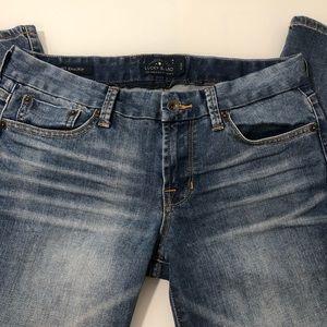 Lucky Brand Sweet Crop Jeans women's size 6/28